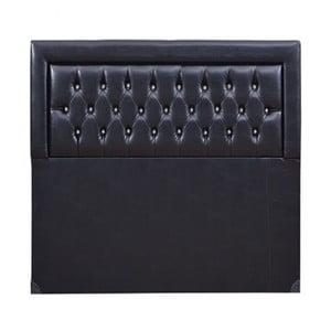 Zagłówek łóżka Llayda Black, 105x100 cm