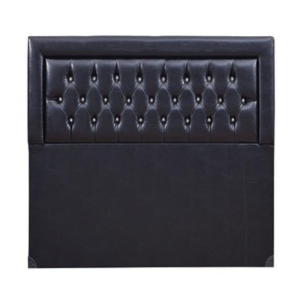 Zagłówek łóżka Llayda Black, 105x160 cm