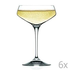 Zestaw 6 kieliszków do szampana RCR Cristalleria Italiana Alessandra