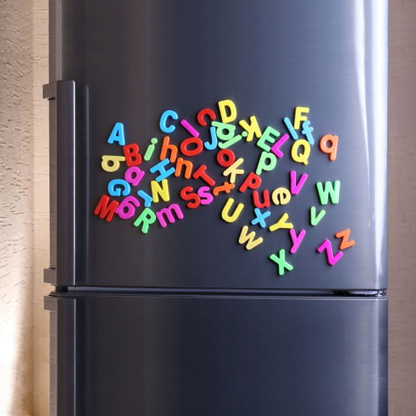 Zestaw   magnesów Ambiance Magnetic Alphabeth, 26 sztuk