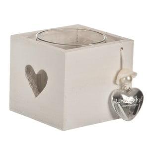 Świecznik Candle Heart, 9x9 cm