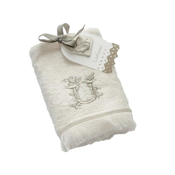 Ręcznik z inicjałem U, 30x50 cm