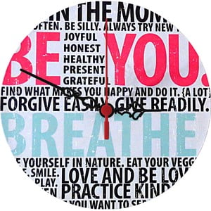 Zegar ścienny Breathe, 30 cm