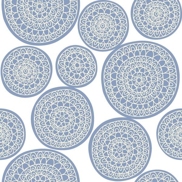 Pościel Circle Azul, 160x200 cm