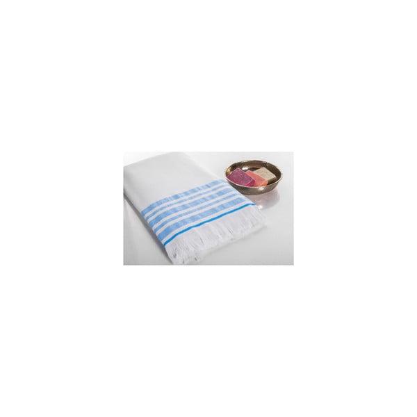 Ręcznik Hamam Sauna Clasic Blue, 100x180 cm