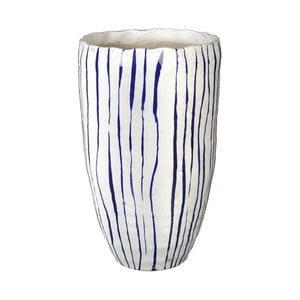 Wazon Blue Stripe