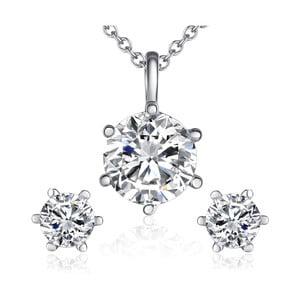 Naszyjnik i kolczyki z kryształami Swarovski Lilly & Chloe Abelle