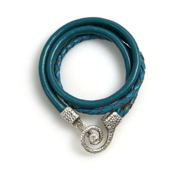 Bransoletka Snake, niebieska