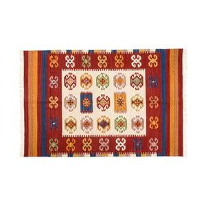 Dywan ręcznie tkany Kilim Dalush 007, 90x60 cm