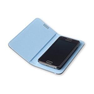 Niebieskie etui na telefon Moleskine Book, duże