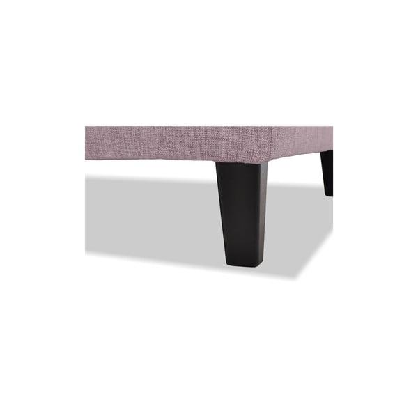 Różowa sofa trzyosobowa Vivonita Monroe