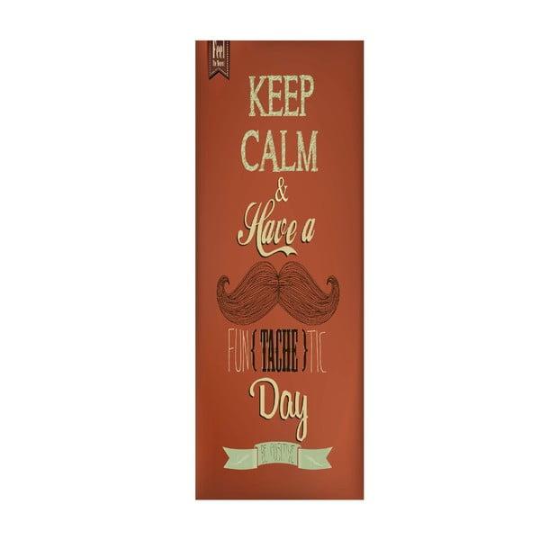 Winylowy dywan Cocina Keep Calm, 50x140 cm