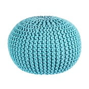 Puf Interccio Light Blue, 50x35 cm