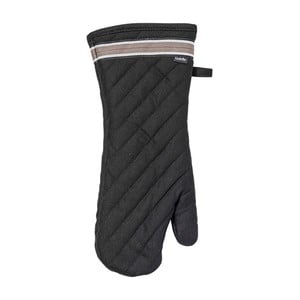 Czarna rękawica kuchenna Ladelle Professional Series