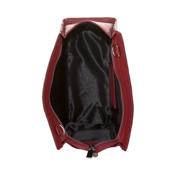 Torebka   skórzana Andrea Cardone, rubinowa czerwień   1008