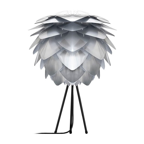 Szara lampa Silvia Mini Steel