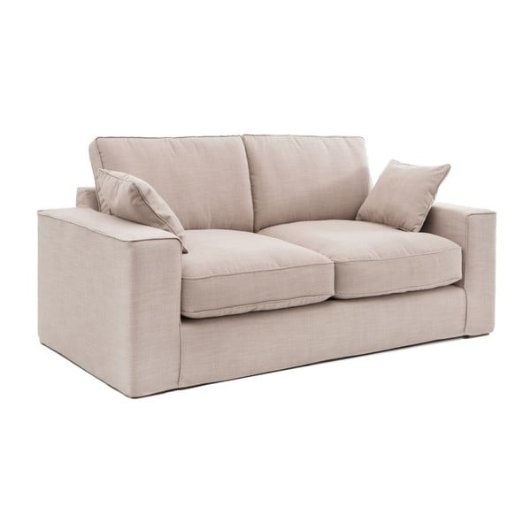 Beżowa sofa trzyosobowa Vivonita Jane