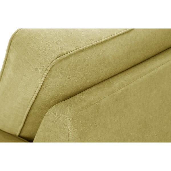 Żółta sofa trzyosobowa Jalouse Maison Serena