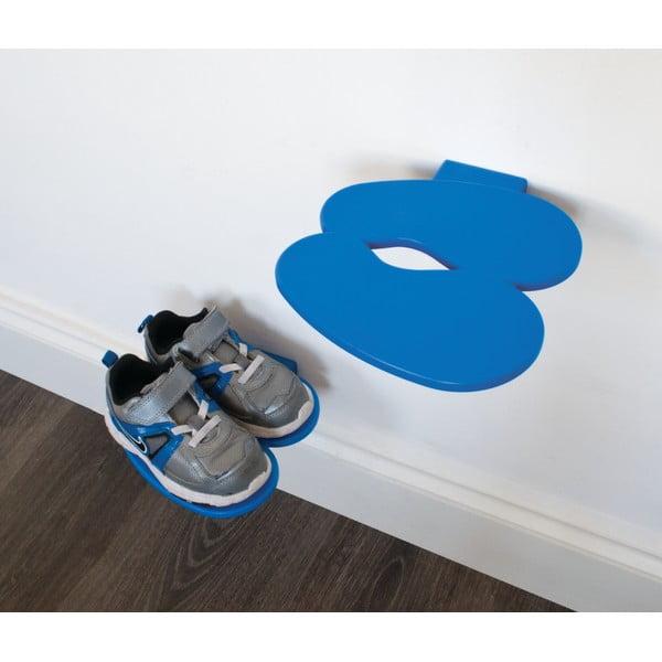 Niebieska półeczka na buty dziecięce J-Me Footprint