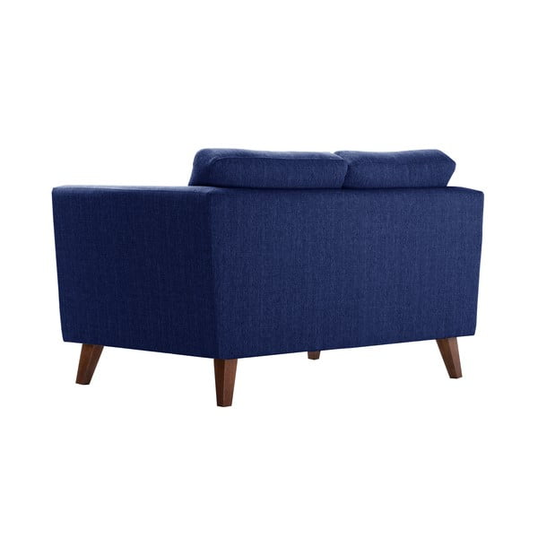 Granatowa sofa dwuosobowa Jalouse Maison Elisa