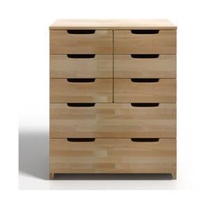 Komoda z drewna bukowego z 8 szufladami SKANDICA Spectrum