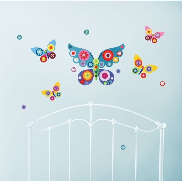 Naklejka Niebieskie motylki
