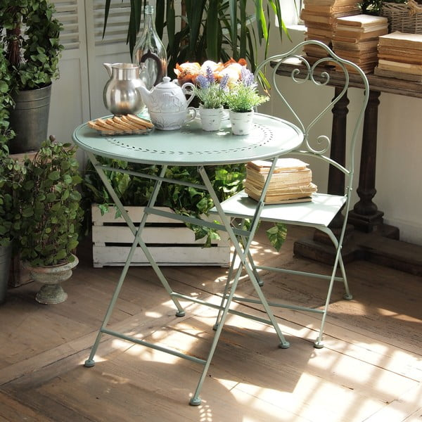 Metalowy stół Green Farm