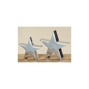 Zestaw 2 obiektów dekoracyjnych Star