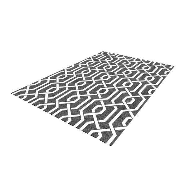Ręcznie tkany dywan Camila Grey, 155x240 cm