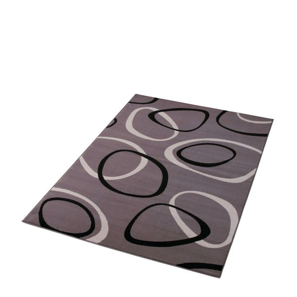 Dywan Hanse Home Prime Pile Rings Grey, 120 x 170 cm