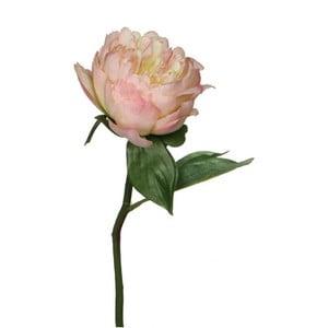 Sztuczny kwiat Peony Cream, 33 cm
