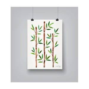 Plakat Americanflat Bamboo, 30x42 cm