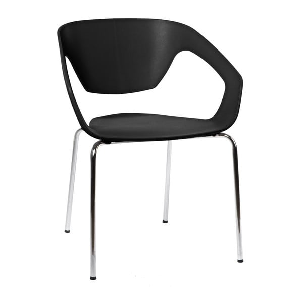 Zestaw 2 krzeseł D2 Space, czarne