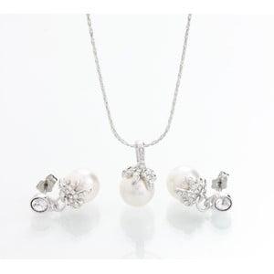 Komplet naszyjnika i kolczyków z kryształami Swarovski Elements Laura Bruni Chica