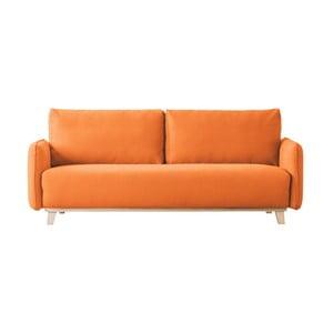 Pomarańczowa sofa 2-osobowa Kooko Home Bebop