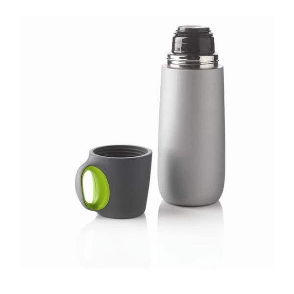 Zielony termos z kubkiem XD Design Bopp