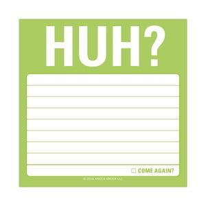 Karteczki samoprzylepne HUH?