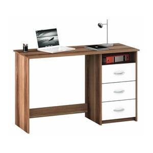 Brązowo-białe biurko 13Casa Aristote