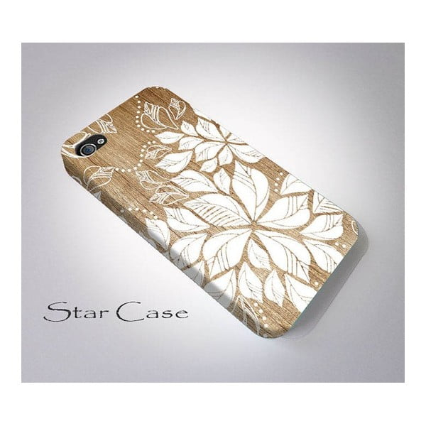 Etui na iPhone 4/4S Wood Floral Big