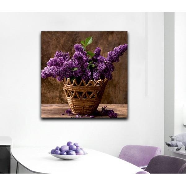 Obraz Wrzosy, 60x60 cm