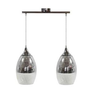 Lampa Candellux Lighting Celia 2, srebrna