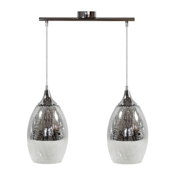 Lampa Candellux Lighting Celia 2, srebrna