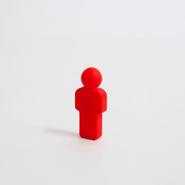 Czerwony magnes w kształcie ludzika Palomar Pinman