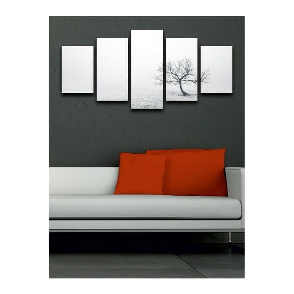 Wieloczęściowy obraz Black&White Pure, 100x50 cm
