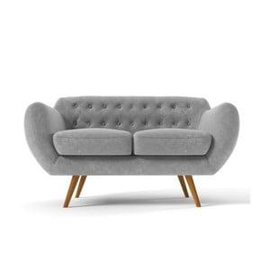 Dwuosobowa sofa Indigo, szara
