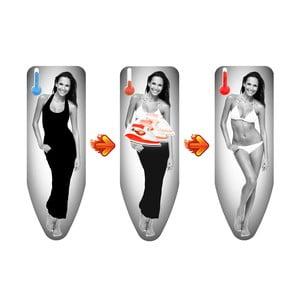 Pokrowiec na deskę do prasowania z naszywką termiczną Colombo New Scal Magique Woman, 130 x 50 cm