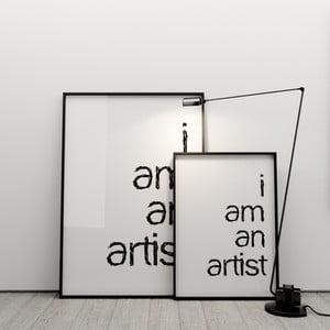 Plakat I am an artist, 50x70 cm