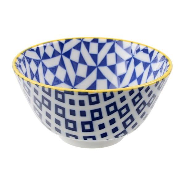 Porcelanowa miska Geo Rice Geometric, 12x6,4 cm