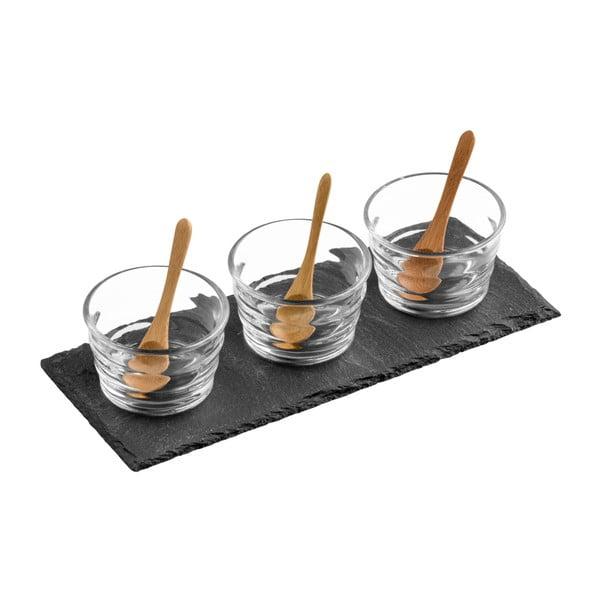 Zestaw do serwowania Premier Housewares Slate