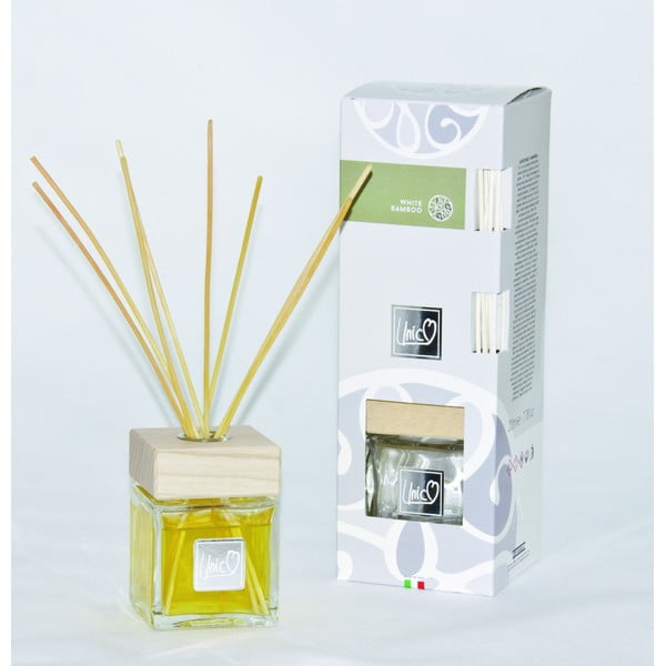 Dyfuzor Unico Prestige, biały bambus 200 ml